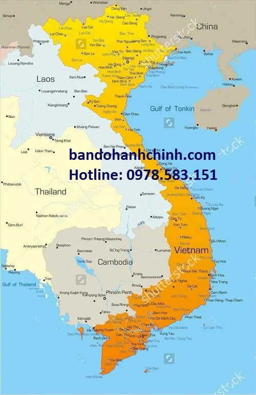 Tìm nơi bán bản đồ Việt Nam cỡ lớn chất lượng
