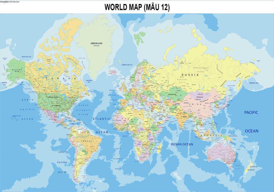 Bán bản đồ hành chính khổ lớn chất lượng ở đâu?