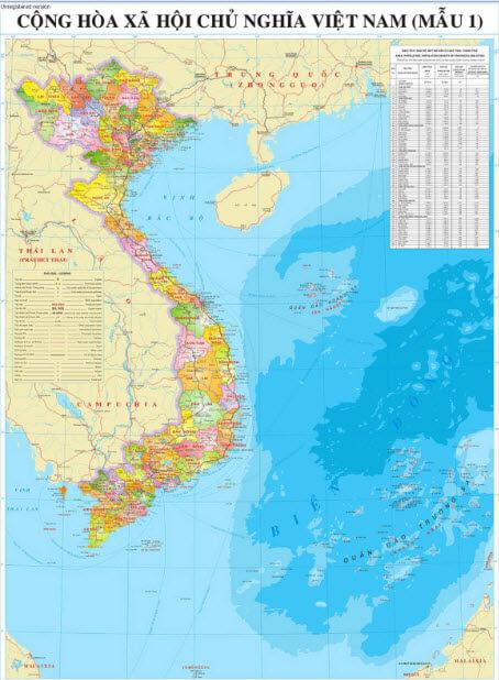 Nơi nào in bản đồ hành chính lớn tốt nhất?