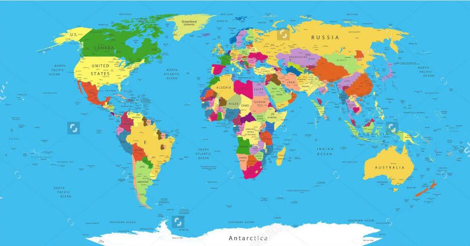 In bản đồ treo tường ở đâu chất lượng?