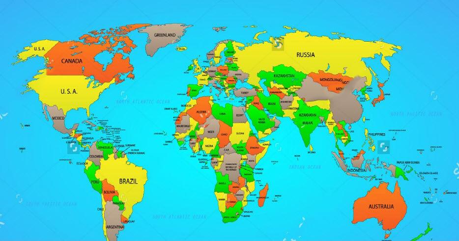 Mua bản đồ treo tường ở đâu đẹp và tốt nhất?