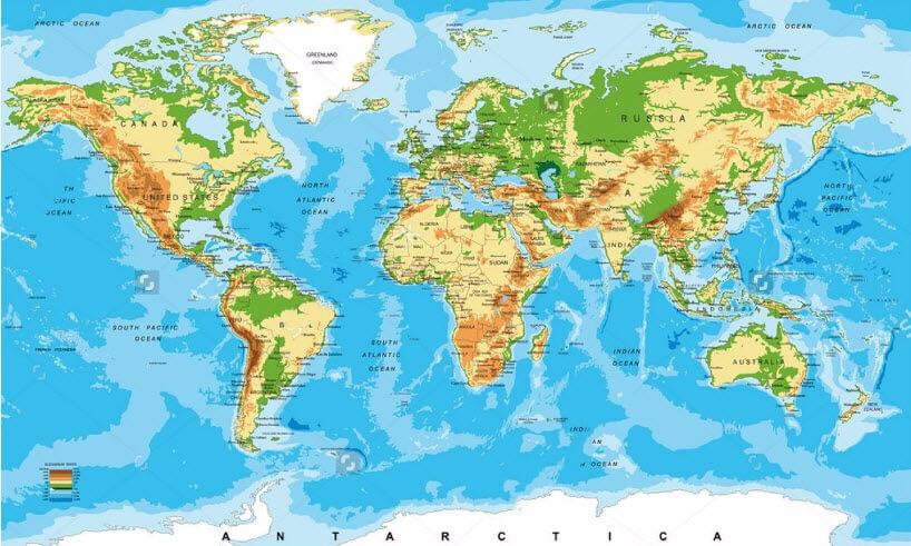 Tìm nơi bán bản đồ cỡ lớn uy tín và chất lượng