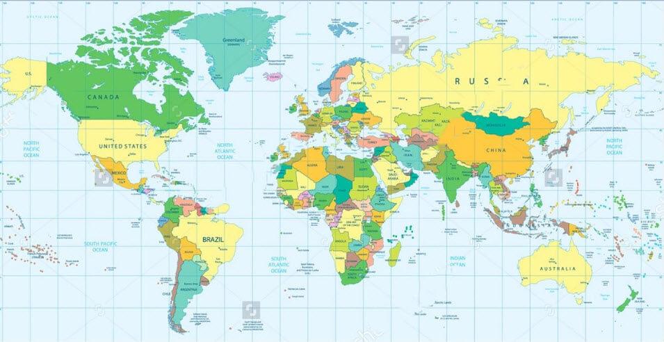 Nơi bán bản đồ treo tường ở đâu tốt nhất?