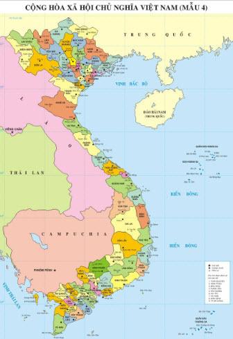 Đi tìm nơi bán bản đồ Việt Nam cỡ lớn chất lượng.