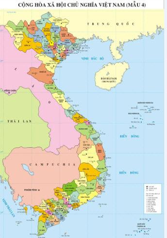 Mua bản đồ Việt Nam treo tường ở đâu đẹp nhất?
