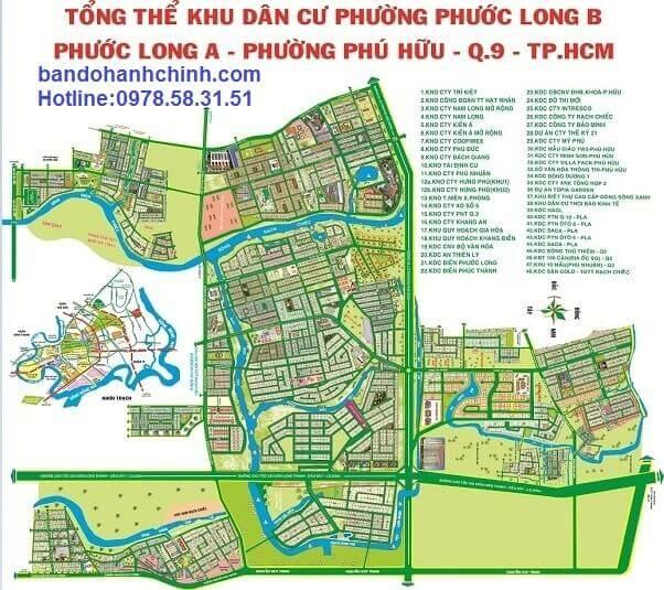 ban do khu dan cu phuoc long b phuoc long a phu huu