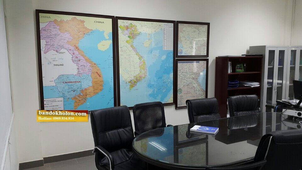 Sáng Tạo Việt bán bản đồ Việt Nam