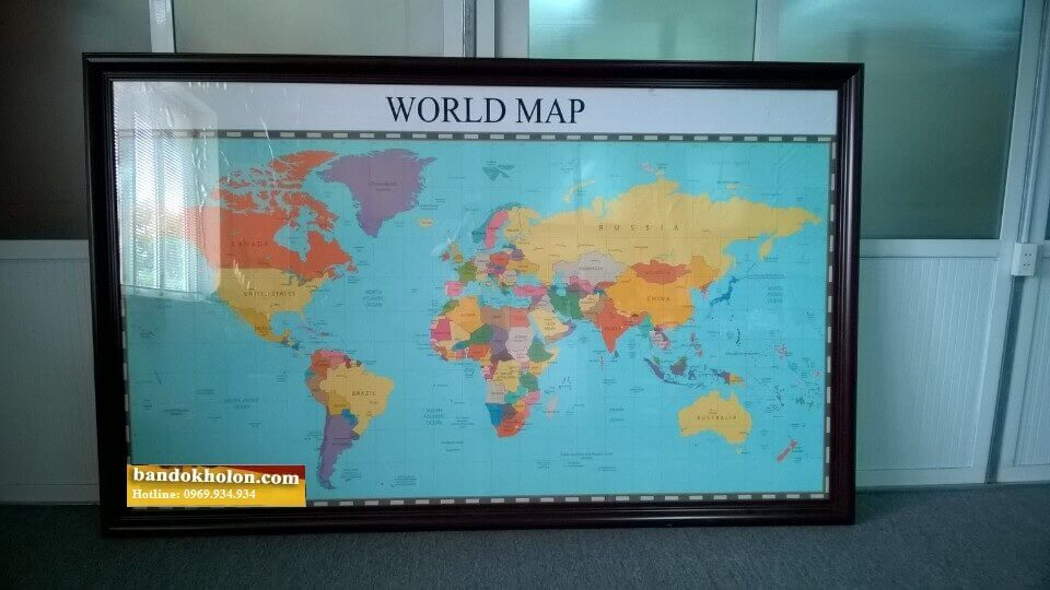 bán bản đồ thế giới khổ lớn uy tín
