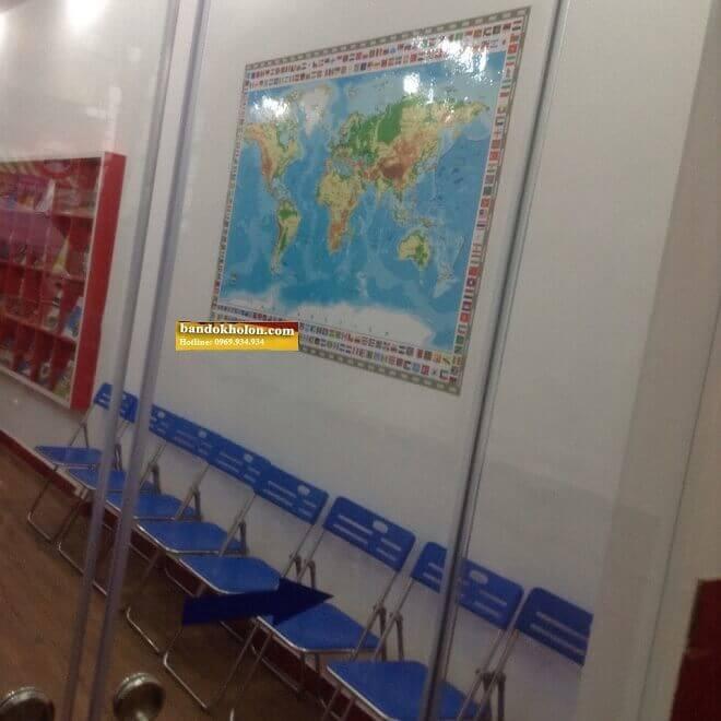 bán bản đồ thế giới đóng khung 04