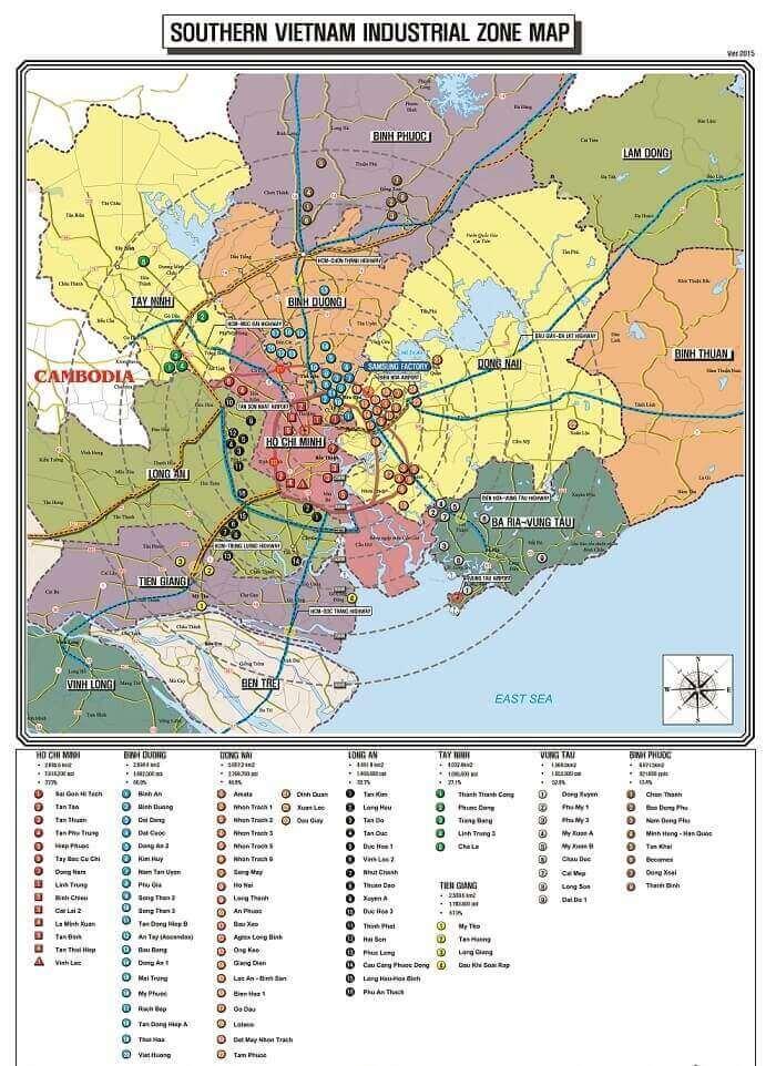 bán bản đồ khu công nghiệp miền Nam ở quận 8