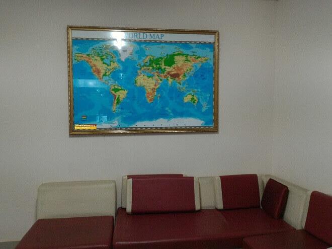 Bán bản đồ thế giới bằng tiếng Việt online trên kênh mua sắm của Map Design