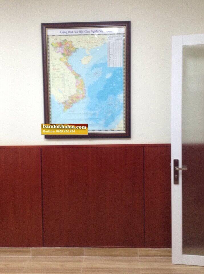 Bản đồ Việt Nam đóng khung 02