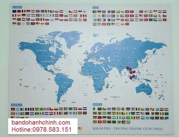 Mua bản đồ Thế Giới tại thành phố hồ chí minh
