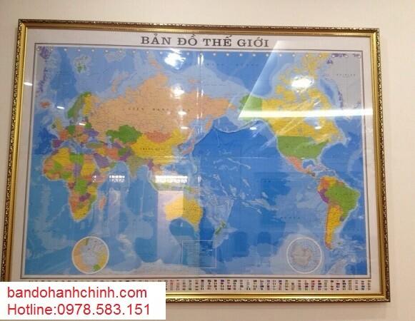 in bản đồ Thế Giới ở đâu