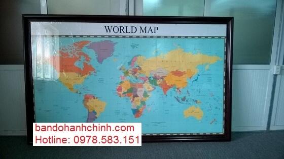 Bán bản đồ Thế Giới uy tín