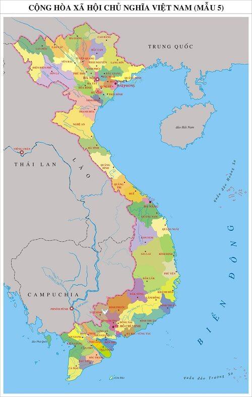 Mua bản đồ việt nam tại thành phố hcm