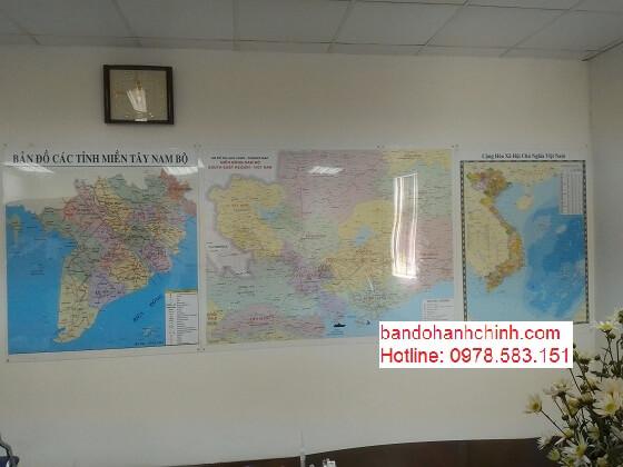 Bán bản đồ Việt Nam tại thành phố Hồ Chí Minh
