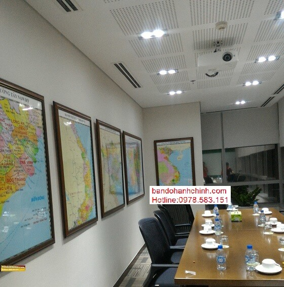 in bản đồ Việt Nam Tiếng Anh size lớn ở đâu