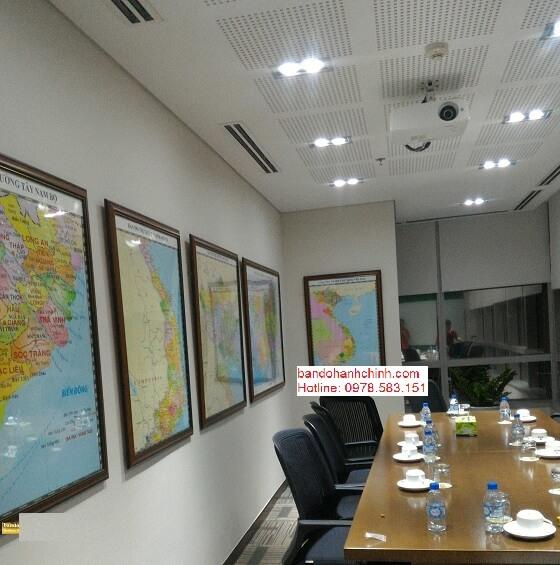 Bán bản đồ Việt Nam khổ lớn tại Hà Nội