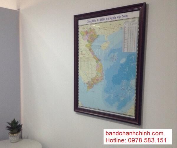 Bán bản đồ Việt Nam Tiếng Anh