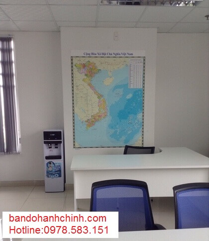 in bản đồ Việt Nam Tiếng Trung tại tphcm