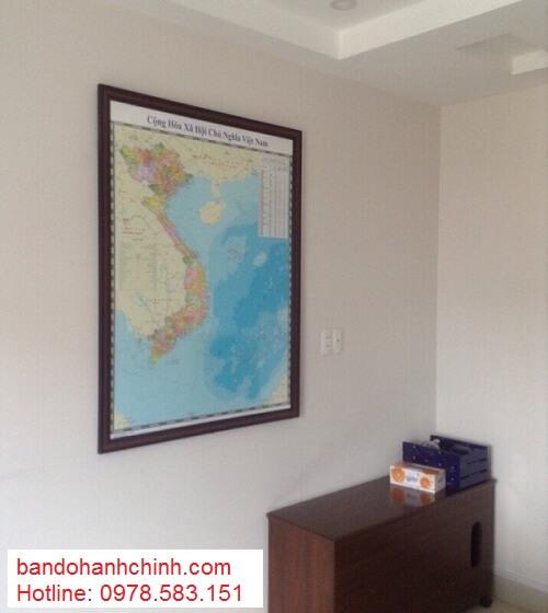Bán bản đồ Việt Nam Tiếng Anh tại tphcm