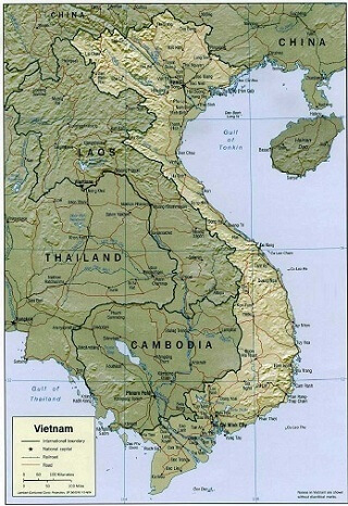 in bản đồ Việt Nam Tiếng Trung cỡ lớn ở đâu