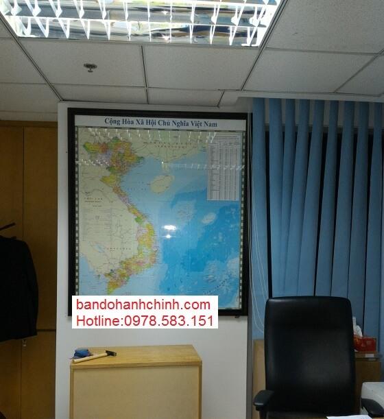 In bản đồ Việt Nam Tiếng Anh ở đâu