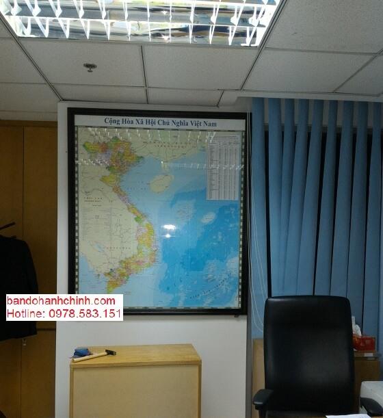 Mua bản đồ Việt Nam cỡ lớn ở đâu