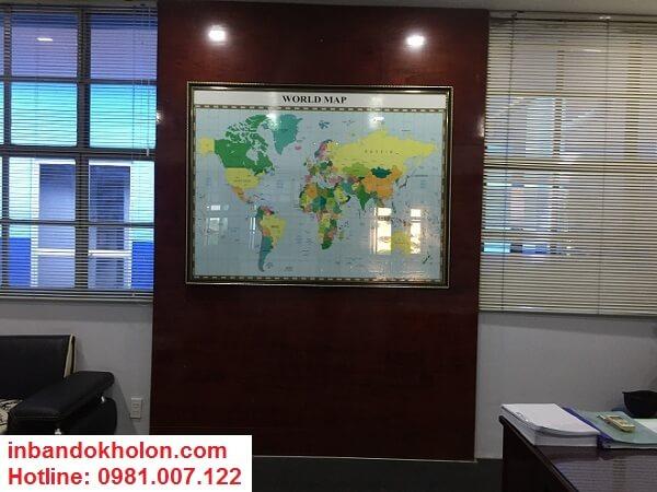 Mua bản đồ thế giới cỡ lớn