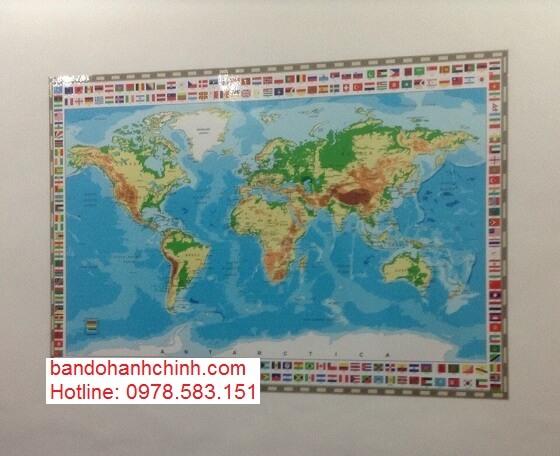 Nơi bán bản đồ thế giới