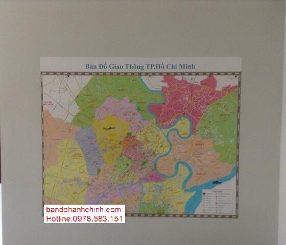Bán bản đồ thành phố Hồ Chí Minh tại hà nội