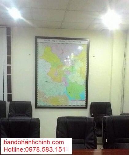 in bản đồ thành phố Hồ Chi Minh tại hà nội
