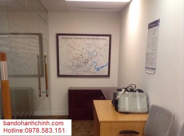 Mua bản đồ thành phố Hồ Chí Minh ở đâu chất lượng