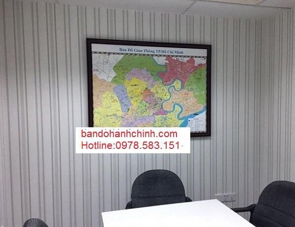 Bán bản đồ thành phố Hồ Chí Minh chất lượng