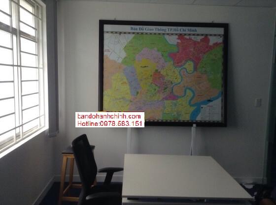 Mua bản đồ thành phố Hồ Chí Minh khổ lớn ở đâu