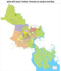 Bán bản đồ thanh phố Hồ Chí Minh