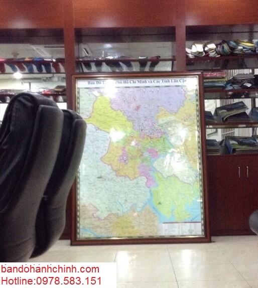 Bán bản đồ thành phố Hồ Chí Minh giá rẻ