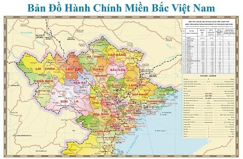 Bán bản đồ miền bắc tại thành phố hồ chí minh
