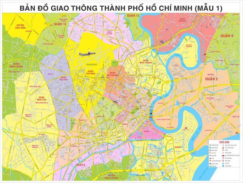bản đồ giao thông TPHCM
