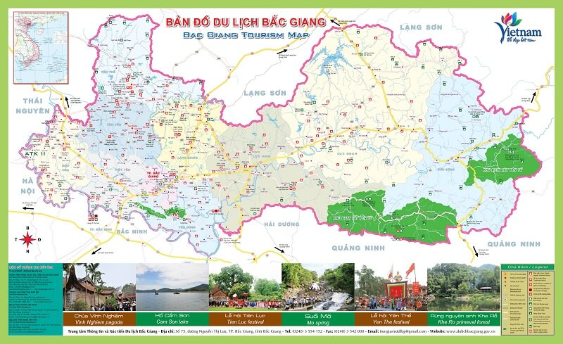 ban do du lich bac giang