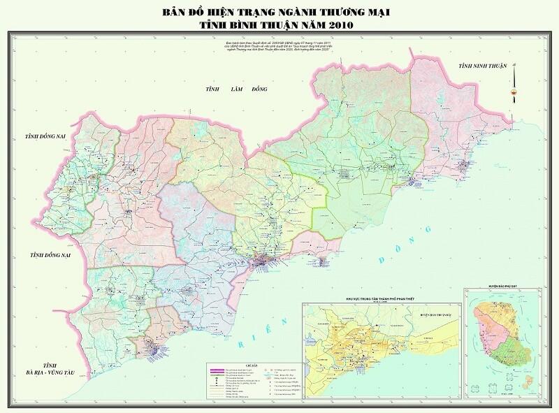 Cùng Bản Đồ Bình Thuận Tìm Về Vùng Cát Trắng