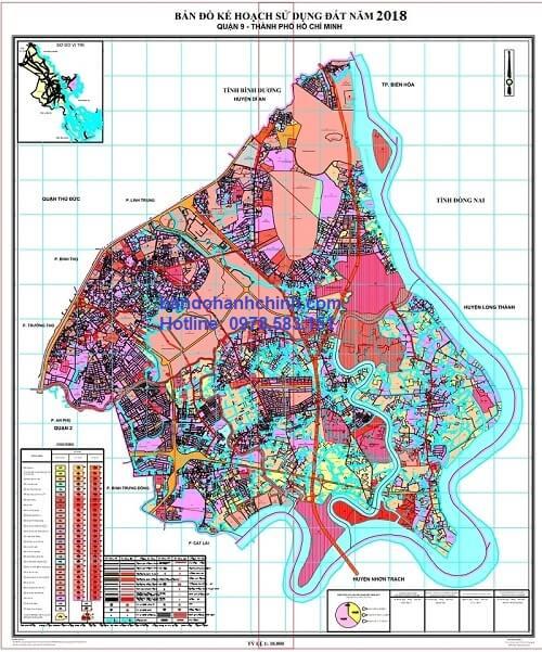 Bản Đồ Quy Hoạch Quận 9 TP HCM