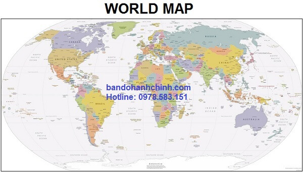 Bản đồ thế giới mẫu 43