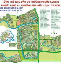 Bản đồ quy hoạch Phước Long B