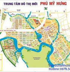 Bản đồ quy hoạch Phú Mỹ Hưng