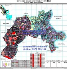 Bản đồ quy hoạch quận 12 TP.HCM