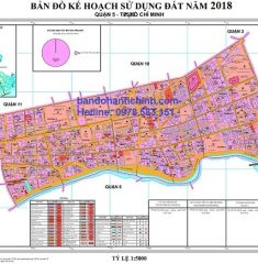 Bản đồ quy hoạch quận 5 TP HCM
