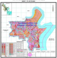 Bản đồ quy hoạch quận 7 TP HCM