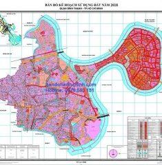 Bản đồ quy hoạch quận Bình Thạnh TP HCM